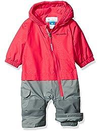 Columbia Kid 's Little Dude trajes–Punch Floral, color rosa, talla 12/18