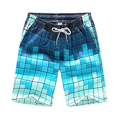 Bali Neoprenanzug (Waselia surf-neoprenanzüge für Herren, Badeanzug Herren Sport sexy, Schnell trocknende Farbshorts für Männer, die Strand-Strand-Shorts blühen Surfboard-Shorts für den Badeanzug)