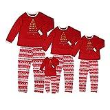 Pyjamas de Noël Ensemble de famille Ensemble de pyjamas à deux pièces par Wongfon