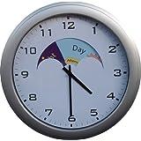 NRS Healthcare - Reloj de pared con gráficos del día y la noche