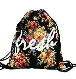 Beutel Fresh Aufdruck Fullprint Tasche Gymsac Turnbeutel Jutebeutel Print Bag Fitness 010