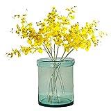 Tamia-Home Windlicht Teelichthalter Vase Bubbles Glas Mint (groß 10146400)