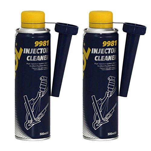 2 x 300ml MANNOL 9981 Injector Cleaner / Benzin Einspritzsystem Reiniger Zusatz