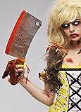 Apoyo plástico cuchilla de Zombie Ricitos de oro