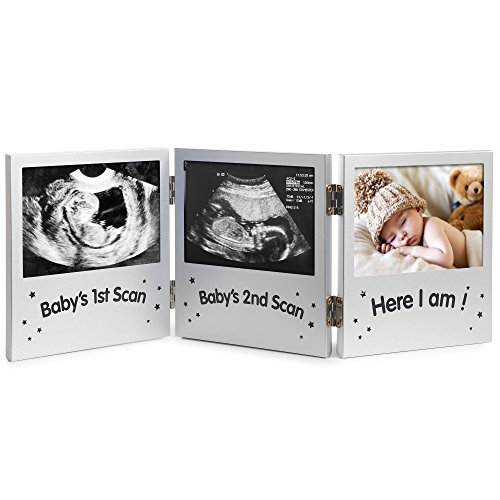 VonHaus Triple Baby Scan Ultrasound Photo Frame / Baby Gift