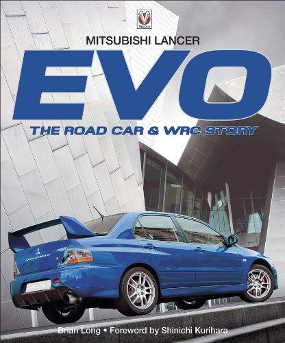 mitsubishi-lancer-evo-i-to-x-the-road-car-wrc-story-evo-i-to-evo-x-english-edition