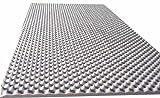 Akustikschaumstoff als Akustik Noppenschaum - Platte 100x200x4cm aus hochwertigem Ester-Schaumstoff