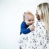 Baby Molton-Tücher Mädchen Jungen 3er Set | Mull-Tücher | Spuck-Tücher | Perfekt als Geschenk:...
