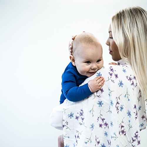 Baby Molton-Tücher Mädchen Jungen 3er Set | Mull-Tücher | Spuck-Tücher | Perfekt als Geschenk: Geburt, Baby-Shower, Neugeborene, Säuglinge und Kleinkinder | 60x60 cm | Ideal für empfindliche Baby-Haut: 100% kuschelweiche Bio-Baumwolle, Mix-Pack (Bio-burp Tücher)