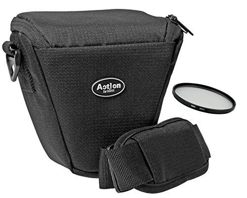 Foto Kamera Tasche Halfter mit UV Filter 52mm für Nikon D3300 D3200 D3100 mit 18-55mm VR