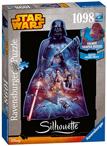 Ravensburger 16158 - Darth Vader Puzzle, Silhouette