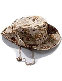 SODIAL(R) Chapeau de Peche Chasse Brousse Protection UV Solaire Sport Voyage Randonnee