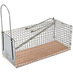 FIXMAN 197512 - Jaula para atrapar roedores (250 x 90 x 90 mm)