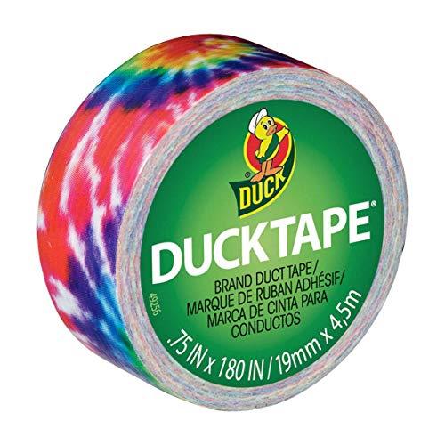 Duck Brand Ducklings Mini Klebeband, 1,9 cm x 4,1 m (Love Tie Dye) -