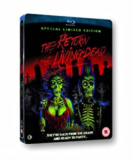The Return of the Living Dead : Limited Special Edition Steelbook [Blu-ray] [1985] (B0073FCA94) | Amazon price tracker / tracking, Amazon price history charts, Amazon price watches, Amazon price drop alerts