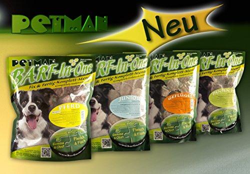 Petman BARF-in-One Pansen PLUS, 6 x 1000g-Beutel,Tiefkühlfutter, gesunde, natürliche Ernährung für Hunde, Hundefutter, BARF, B.A.R.F. - 2
