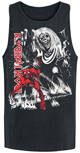 Iron Maiden NOTB B&W Tank-Top schwarz Schwarz