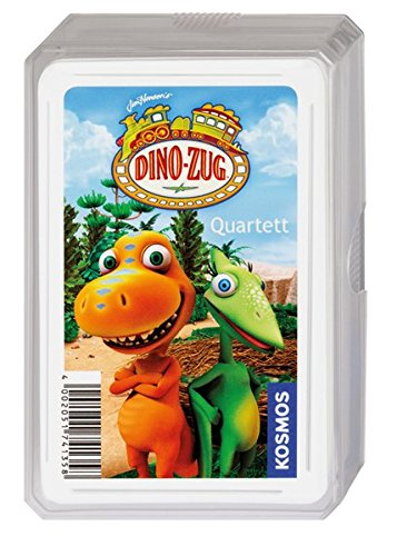 Kosmos 740368 - Dino-Zug Quartett Kartenspiel