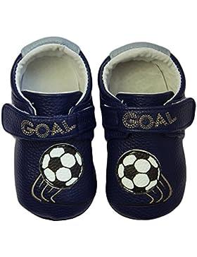 Rose & Chocolat RCM Soccer Star Baby Jungen Krabbelschuhe & Puschen Sneaker