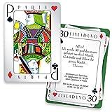 Einladungskarten zum Geburtstag - Poker | 15 Stück | Inkl. Druck Ihrer persönlichen Texte | Individuelle Einladungen | Karte Einladung