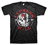 Cypress Hill Oficialmente Licenciado South Gate - California Camiseta Para Hombre (Negro), X-Large