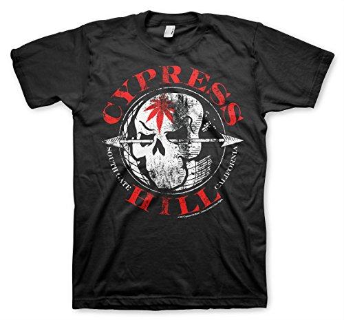 Cypress Hill Officiellement sous Licence South Gate - California T-Shirt Pour Hommes (Noir), Medium