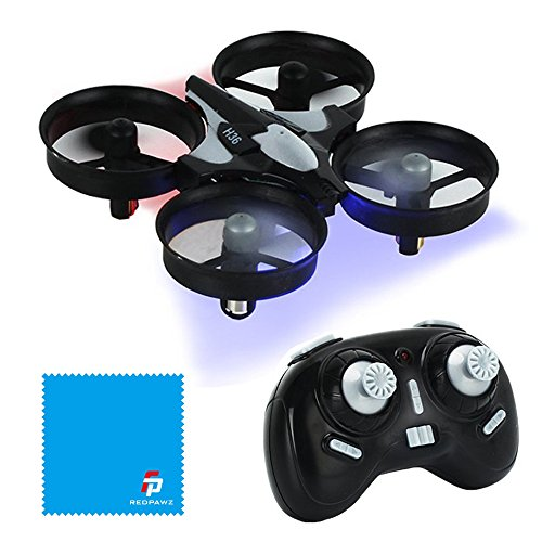 JJRC H36 MINI Drone 2.4G 4CH 6Axis Gyro Headless Mode CF Mode One Key Return RC Quadcopter RTF (Dark Gray)
