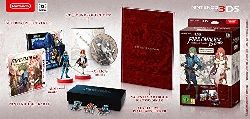 3DS Fire Emblem Echoes: Shadows of Valentia + Amiibo Alm y Amiibo Celica