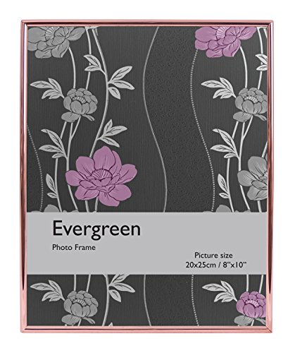 Edge 8x10 Foto (Evergreen dünn Edge Rahmen für 8x 25,4cm Foto, Rose Gold)
