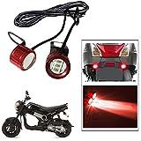 Vheelocityin Metal Body Bright Flasher Bike / Motorcycle Mini Flasher LED Light For Honda Navi