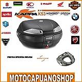 Kit Topcase Kappa K53Tech und Platte Monokey BMW F 800GS 2013201420152016