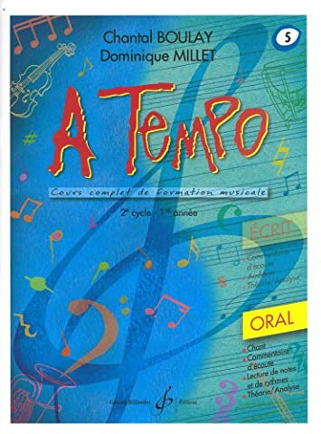 A Tempo - Partie Orale - Volume