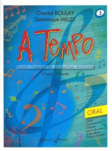 A Tempo - Partie Orale - Volume 5 par Boulay