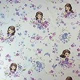 Disney Blütenblatt–Neuheit Premium Grade 100% Baumwolle feines Gewebe Kinder Vorhang Betten Stoff 140cm breit, Meterware,