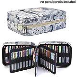 100/150de colores lápiz bolsa para bolígrafo papelería Pencilcase qianshan