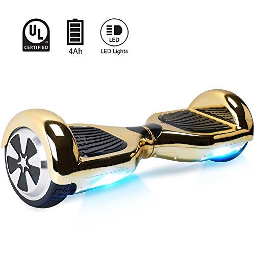 "Windgoo Hoverboard, 6.5\"" Elektro Scooter mit 2 * 250W Motor, LED Lights, Self-Balance E-Skateboard"