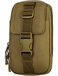 MagiDeal Outdoor Sports Molle Waist Bag Phone Case Pocket Belt Pouch Fanny Pack