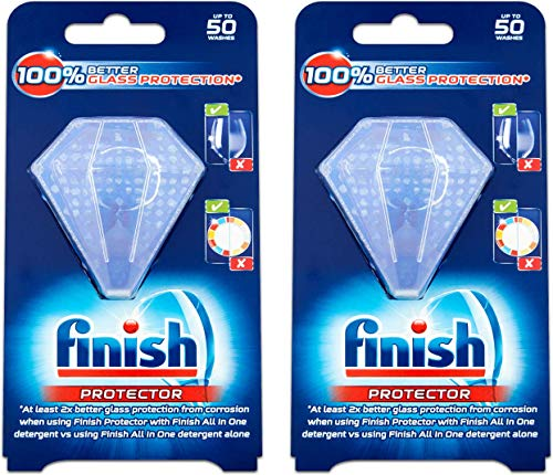 Finish Dishwasher Protector, Protects Dishes And Maintains Shine, Pack of 2