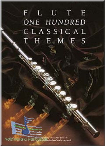 One Hundred Classical Themes For Flute - Flöte Noten [Musiknoten]