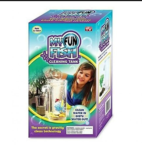 My Fun FishTM Tank Cleaning Tank Complete Aquarium Setup Brand New As Seen On TV by service mind - Tv New