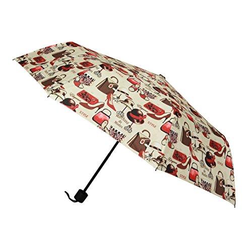 Signare Rétractable poignée Parapluie droite de pliage dans la conception Boutique