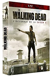 The Walking Dead-L'intégrale de la Saison 3 [Blu-Ray] (B00FK2Y0KO) | Amazon price tracker / tracking, Amazon price history charts, Amazon price watches, Amazon price drop alerts
