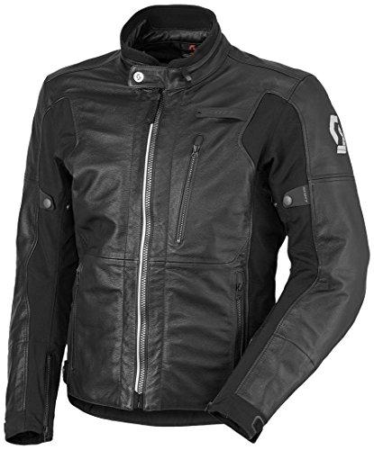 Scott Tourance DP Leder Motorrad Jacke schwarz 2018: Größe: XXL (54/56)