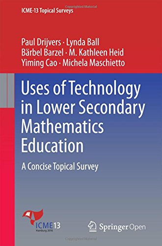 Uses of Technology in Lower Secondary Mathematics Education: A Concise Topical Survey (ICME-13 Topical Surveys)