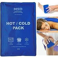 msd gel kalt-warm Wiederverwendbare 25x35cm doppelt Verwendung Tasche Eis Wasser warm hot cold pack Futter Blau... preisvergleich bei billige-tabletten.eu