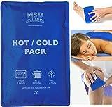 Msd GEL FROID-CHAUD Réutilisables 25x35cm DOUBLE USAGE Sac Glace Eau Chaude HOT froid PACK Doublure Bleu STANDARD GEL Non toxique Biodégradable
