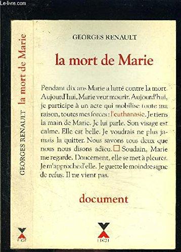 MORT DE MARIE