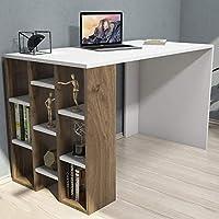 Bravo Inci Studying Desk, White - 75 cm x 120 cm x 60 cm INCM.BI.18.01