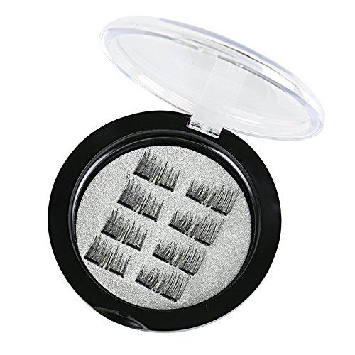 Naler 8pcs false/ciglia finte, calamite fake eye lashes ciglia estensione completa striscia per donne make up trucco cosmetici