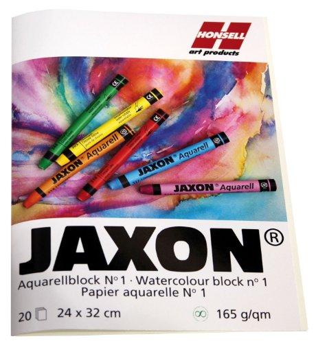 Jaxon 15464 Aquarellblock, 165 g/m², 24 x 32 cm, 20 Blatt